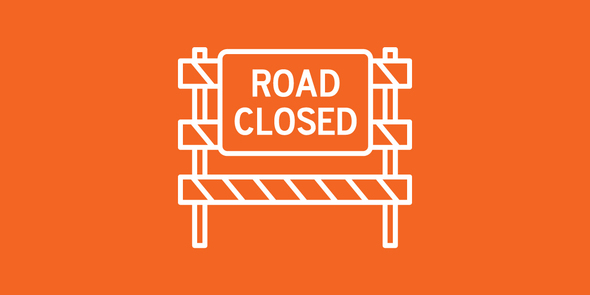 Icon image of road barricade