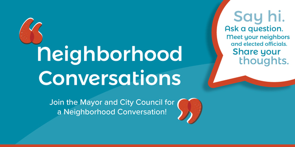 Neighborhood Conversation on May 2
