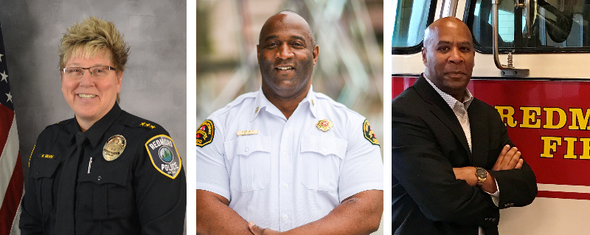 Chief Kristi, Tommy and Don Horton