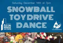 Snow Ball Toy Drive Dance