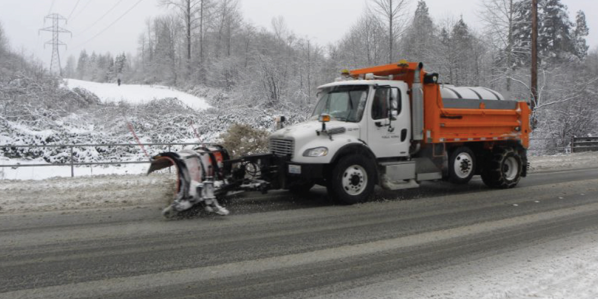 Redmond Snow Plow