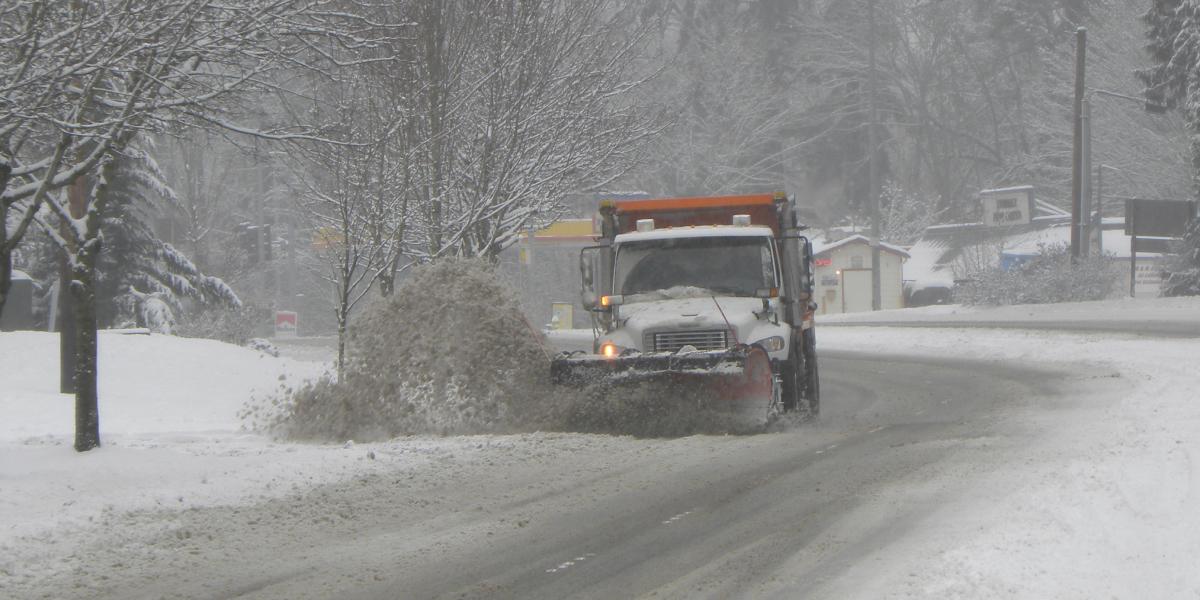 Redmond snow plow