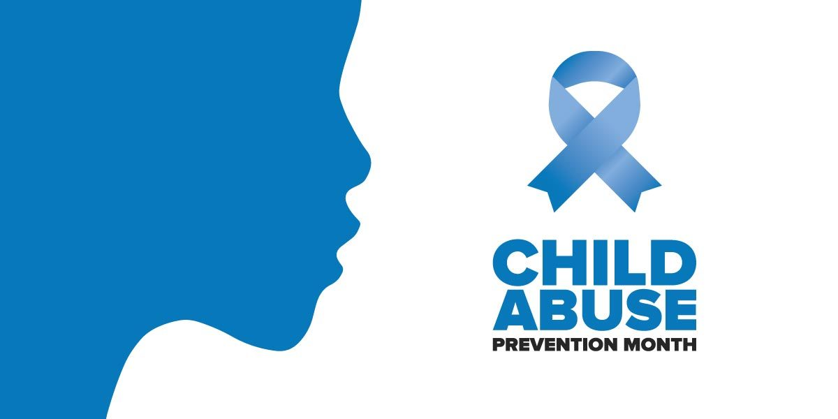 Child Abuse Prevention blue ribbon