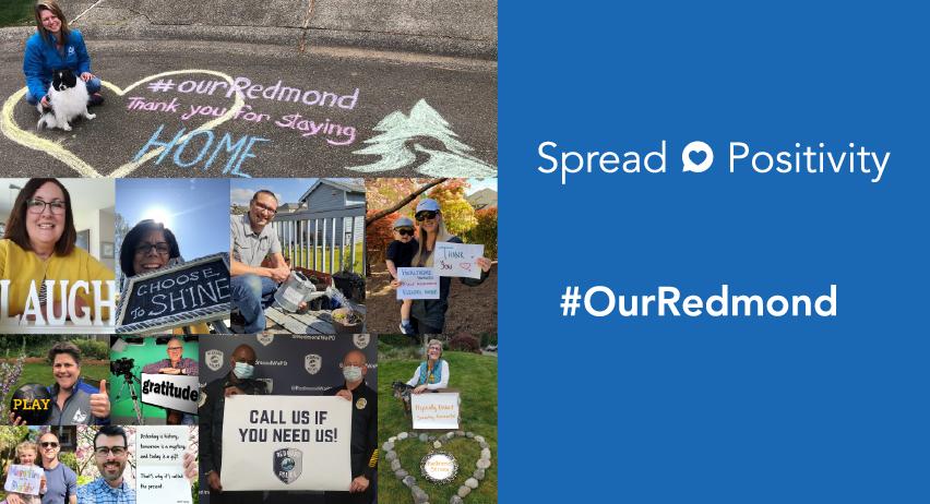 Our Redmond Spread Positivity Campaign
