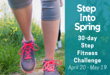 Step into Spring Fitness Challenge