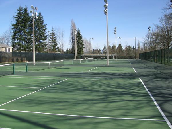 Grass Lawn Park Tennis Courts
