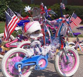 Bike Decorating