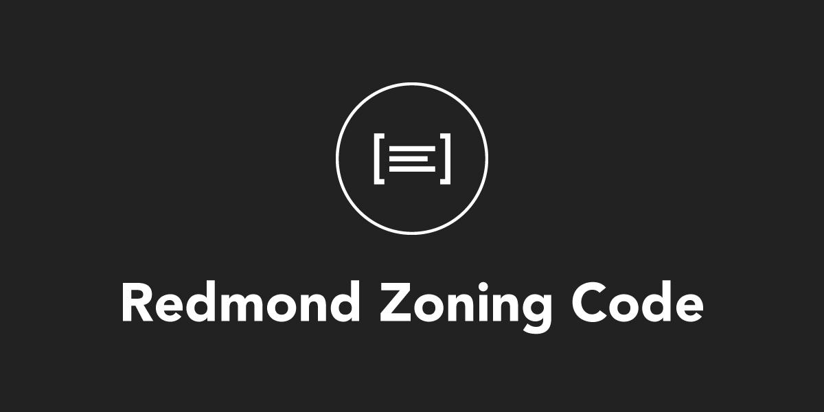 Redmond Zoning Code