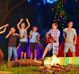 Virtual Kids Campfire Sing Along