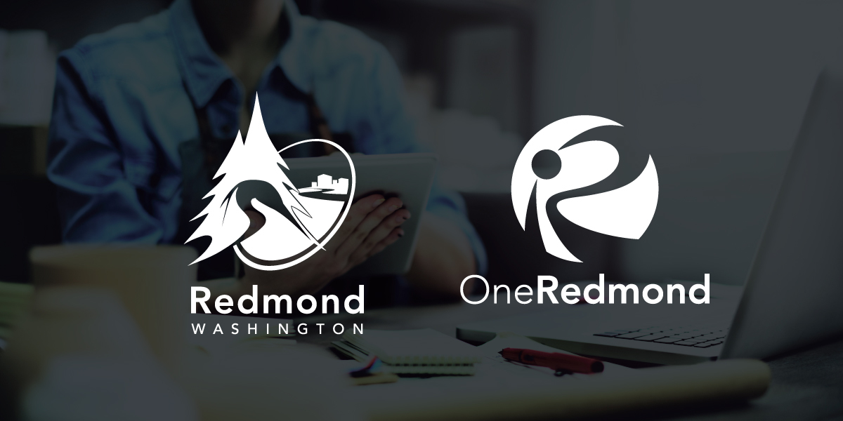 City of Redmond and One Redmond logos