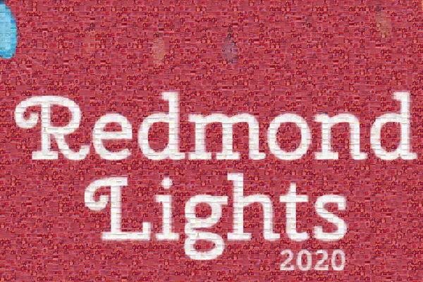 Redmond Lights Coloring Contest Mosaic