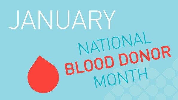 January - National Blood Donotion Month