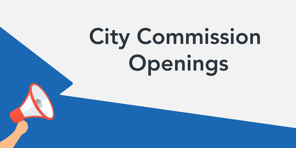 City Commission Openings