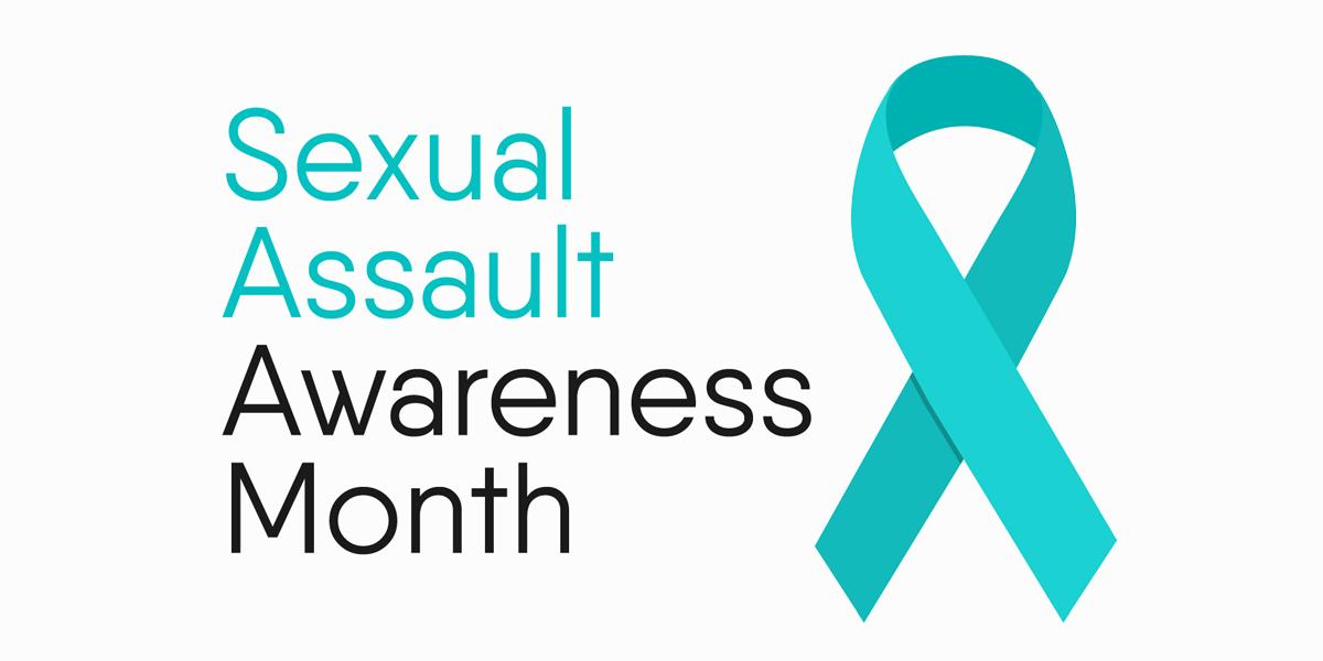 Sexual assault awareness month image