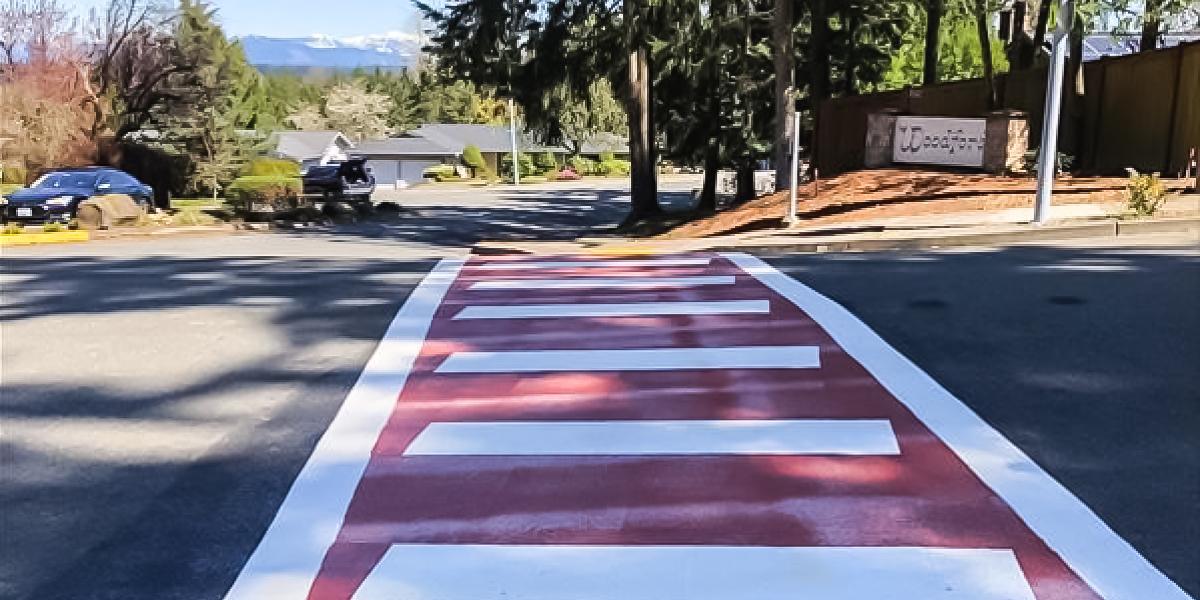 Redmond crosswalk