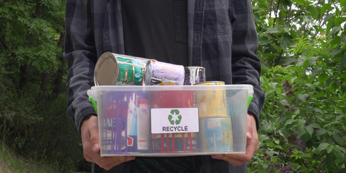 Paint recycling program