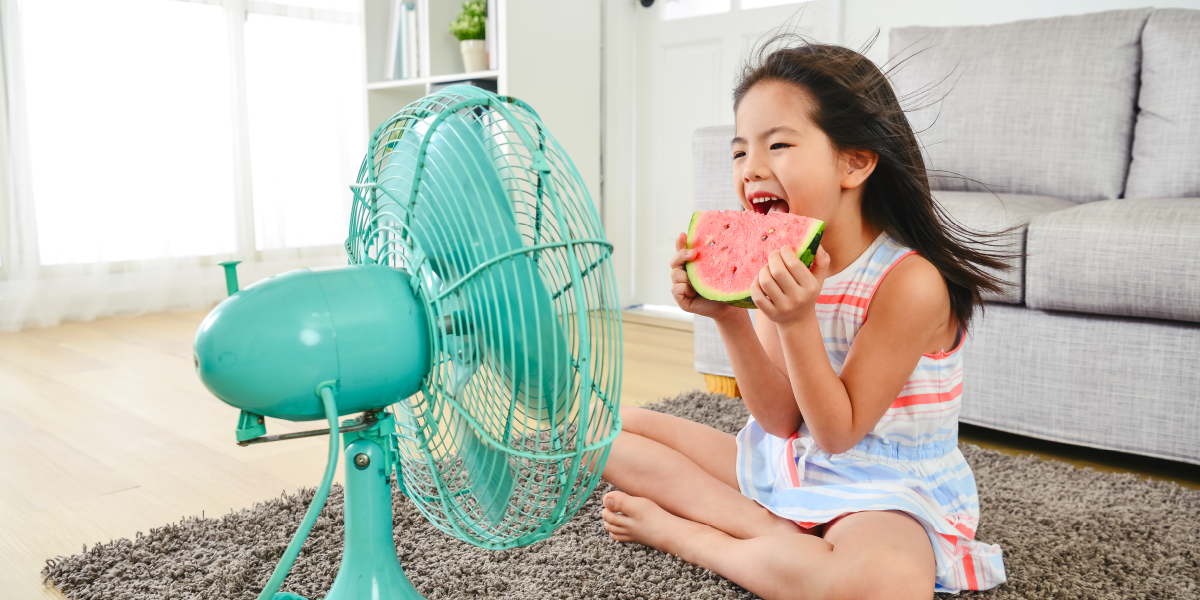 Stay cool in the hot weather