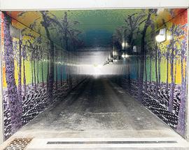 The new SR 520 pedestrian tunnel