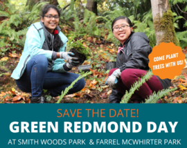 Save the date for Green Redmond Day