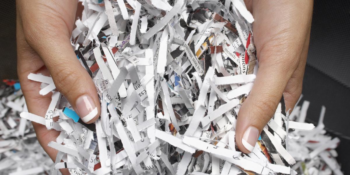 Paper Shredding Event