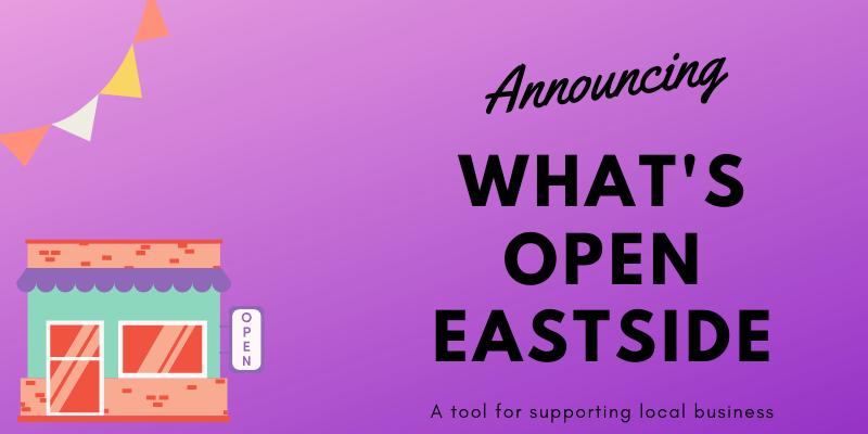 What's Open Eastside