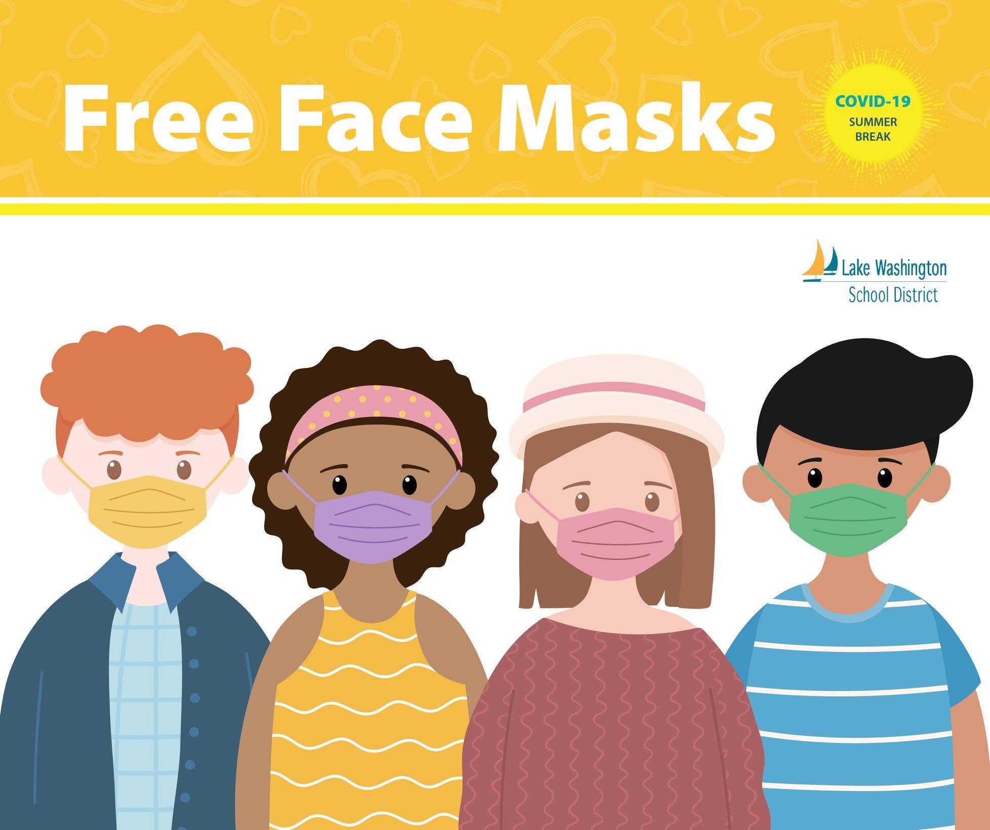 LWSD Free Face Masks
