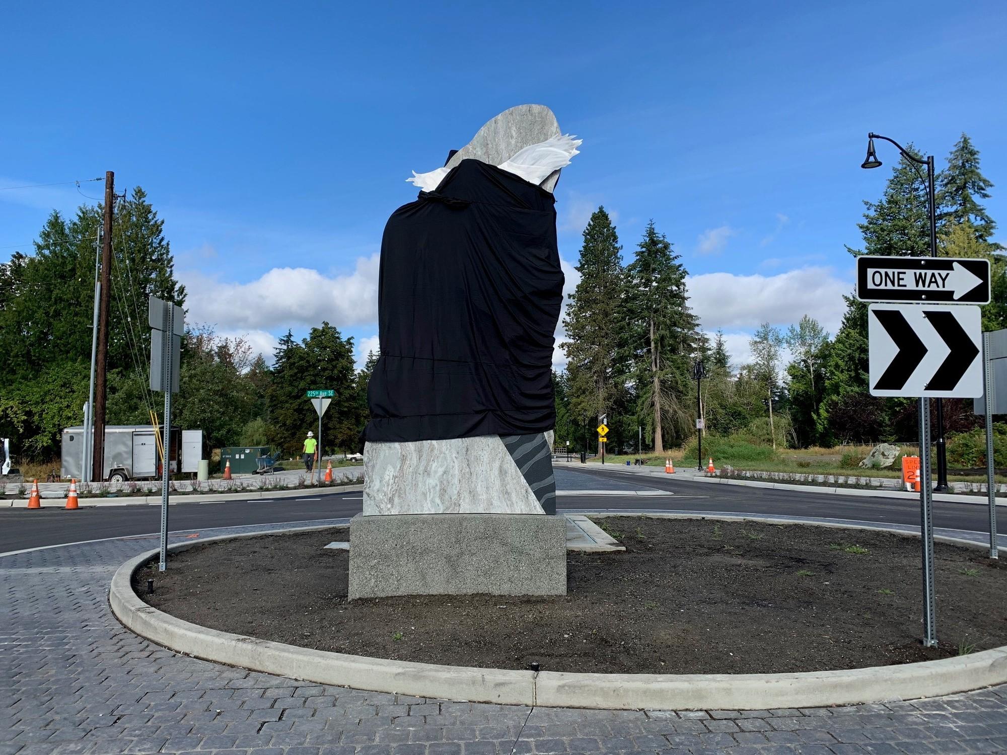 sculpture veiled
