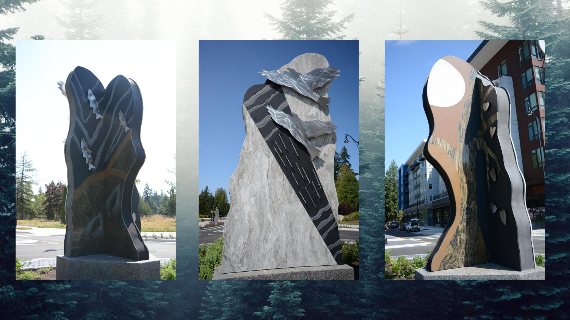 SE 4th St Sculpture