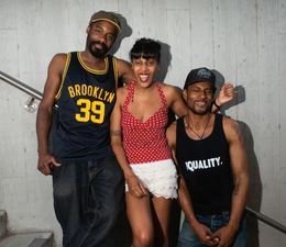 the three Black Tones members