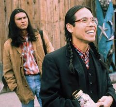 two male characters in Smoke Signals