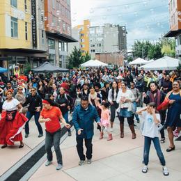 """MÁS Movimiento Afrolatino Seattle's """"Pregones de Mi Tierra"""" event"""