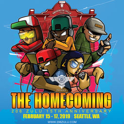 206 Zulu Homecoming promo poster
