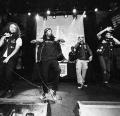 Souls of Mischief performing