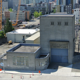 Broad Street Substation Exterior