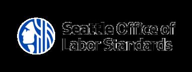 Office of Labor Standards logo large black