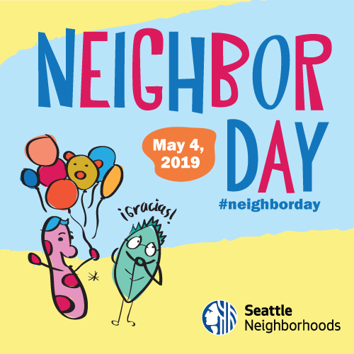 illustration promoting Neighbor Day