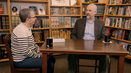 Host Nancy Pearl talks with author Neal Stephenson on Book Lust