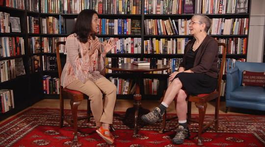 Book Lust host Nancy Pearl interviews Author Sujata Massey