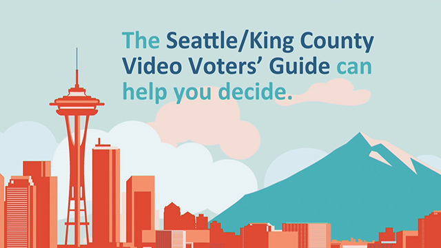 Seattle/King County Video Voters Guide