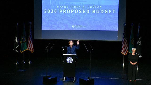 Mayor Jenny Durkan's 2020 budget proposal address