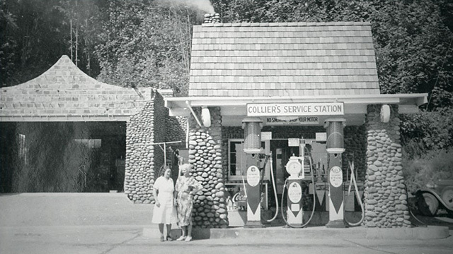 Historic photo of Rainier Avenue