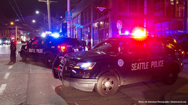 Seattle Police on Capitol Hill