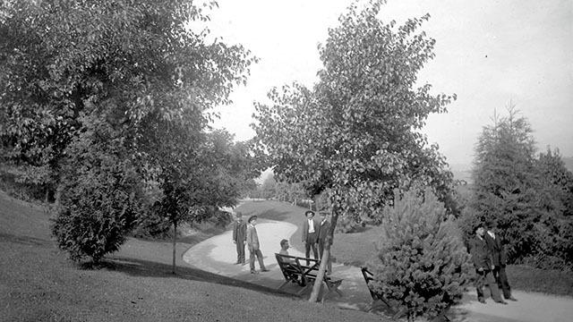Historic photo of Denny Park