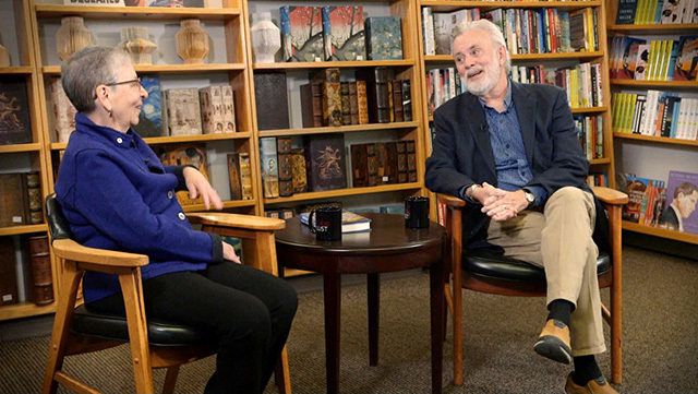 Nancy Pearl and James R. Benn