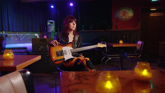 Guitarist Kathy Moore