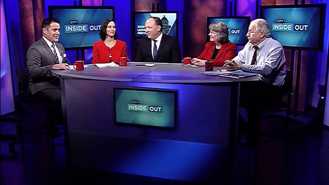 City Inside/Out with host Brian Callanan and state legislators