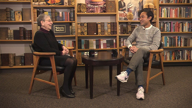 Book Lust with Nancy Pearl, featuring Paul Yoon