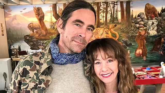 Nancy Guppy with Greg Lundgren