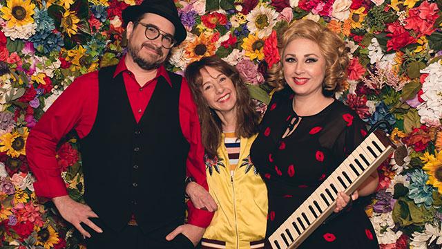Nancy Guppy with Sundae + Mr. Goessl