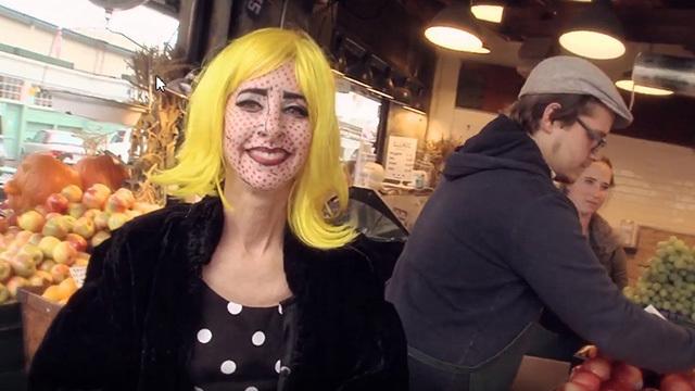 Nancy Guppy at Pike Place Market
